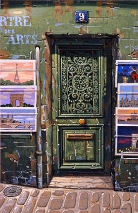 Liudmila Kondakova-The Green Door