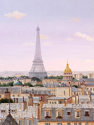 Liudmila Kondakova-Paris Daybreak