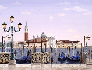 Liudmila Kondakova-Venetian Dawn