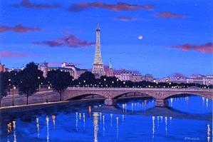 Liudmila Kondakova-The Seine