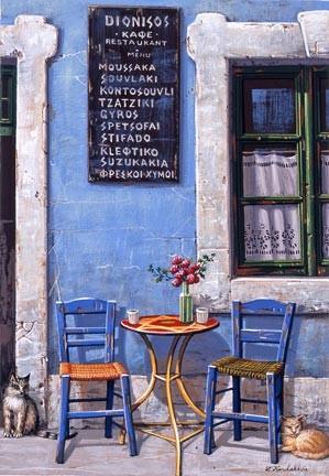 Liudmila Kondakova-Dionisos Café