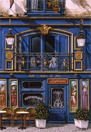 Liudmila Kondakova-Café Salon De Thé