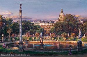 Cao Yong-The Luxembourg Garden II La Fountaine
