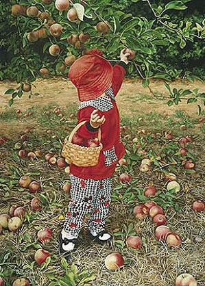 Tom Sierak-Little Red Canvas Giclee