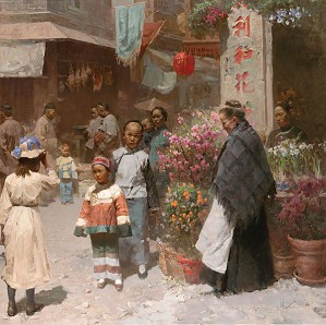 Mian Situ-Chinese Flower Shop San Francisco 1904