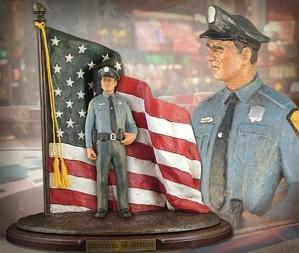 Michael Garman-Defenders of Freedom Law & Order Handpainted