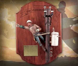 Michael Garman-Brotherhood Lineman Handpainted