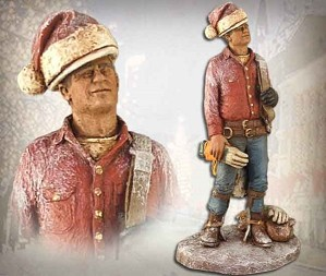 Michael Garman-Christmas Lineman Handpainted