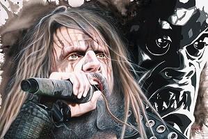 Stickman-Shriek the Lips Across Ragged Tongue - Rob Zombie
