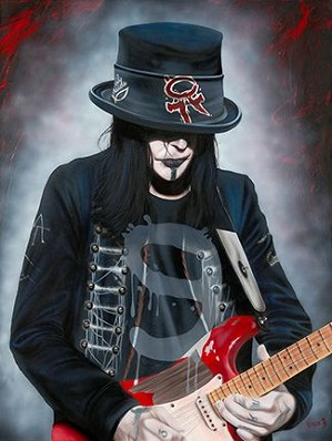Stickman-He's The Blood Stain on the Stage - Mick Mars