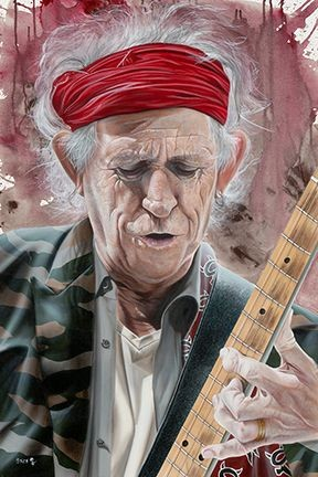 Stickman-A Man of Wealth and Taste - Keith Richards