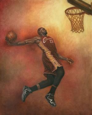 Mike Kupka-LeBron James (Basket Ball)