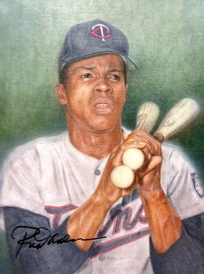 Mike Kupka-Rod Carew Signed by Carew
