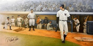 Mike Kupka-Yankee Proud - Captains Piece Signed by Jeter