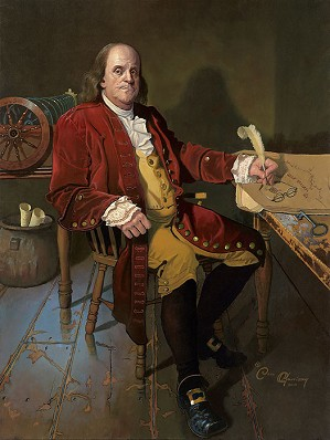 Dean Morrisey-Ben Franklin Patriot and Renaissance Man MASTERWORK EDITION ON