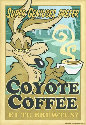 Mike Peraza-Coyote Coffee Artist Proof