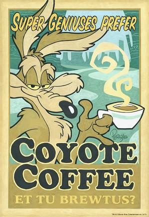 Mike Peraza-Coyote Coffee Artist Proof