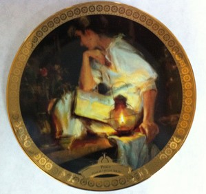 Dan Gerhartz-PEACE LIMITED EDITION COLLECTOR PLATE