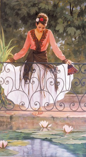 Arian-Reflections Giclee On Canvas