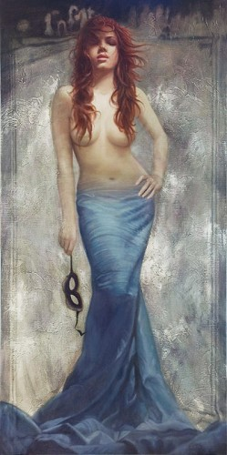 Arian-Revealed Giclee On Canvas