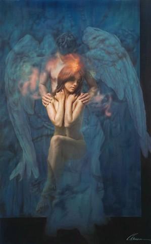 Arian-Sanctuary Giclee On Canvas
