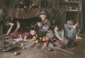 Morgan Westling-Apples and Oranges