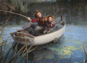 Morgan Westling-The Fishing Hole