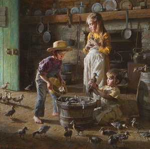 Morgan Westling-The-Ducklings