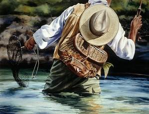 Nelson Boren-Small River Big Fish Limited Edition