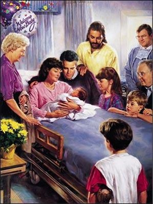 Nathan Greene-The Miracle Of Birth Canvas Giclee