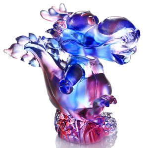 Liuli Crystal-Zodiac (Dragon, The Light of Future) - Little Singing Dragon