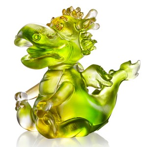 Liuli Crystal-Zodiac (Dragon, The Light of Future) - Little Enlightened Dragon