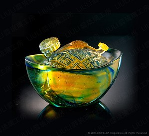 Liuli Crystal-Perch of Prosperity