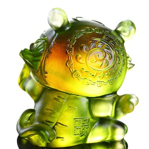 Liuli Crystal-Zodiac Collection (Tiger, Courageous) - Little Valiant One