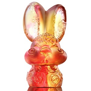 Liuli Crystal-Zodiac Collection (Rabbit, Lovable) - Darling