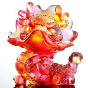 Liuli Crystal-Zodiac Collection (Dragon, Pride) - I Am Super