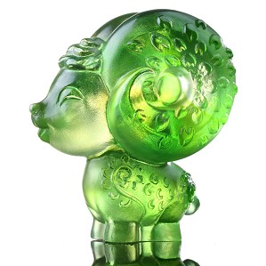Liuli Crystal-Zodiac Collection (Sheep, Lovable Me) - Dear