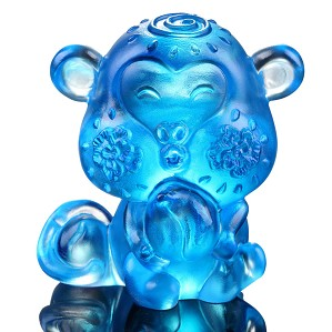 Liuli Crystal-Zodiac Collection (Monkey, Ambition) - Little Saint