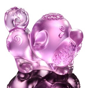 Liuli Crystal-Zodiac Collection (Dog, Lucky Star) - Prosperity Comes Along