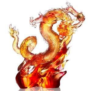 Liuli Crystal-Leading the Way, the Dragon from the East