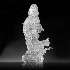 Liuli Crystal-Heartfelt Compassion in Each Step