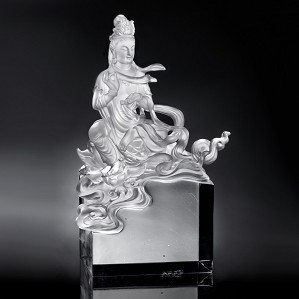 Liuli Crystal-Guanyin of Colorful Cloud Water