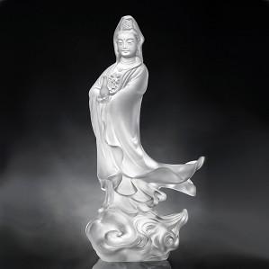Liuli Crystal-JingPing GuanYin