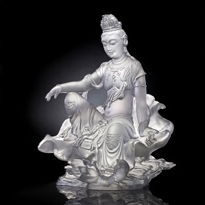 Liuli Crystal-Guanyin of Fulfillment and Purity