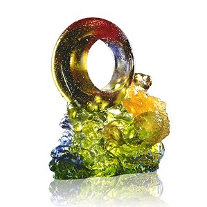 Liuli Crystal-Through Heaven and Earth - Mythical Creature (Qilin, Ambition)
