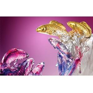 Liuli Crystal-Fish (Love All Around) - Nine Dragon Fish