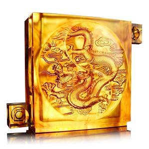 Liuli Crystal-From Taiji Comes The Dragon