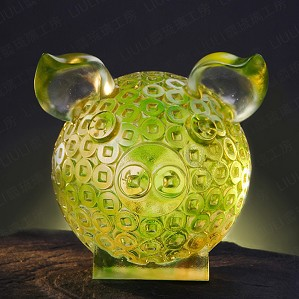 Liuli Crystal-Generosity Brings Fortune