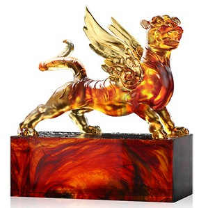 Liuli Crystal-Heavenly Wings of the Tiger