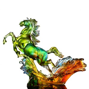 Liuli Crystal-A Mighty and Mythical Steed